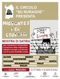 """Alessandria: 23 ottobre - Mostra """"Migrantes per l'Europa"""""""