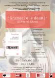 """Distanti ma uniti: 29 gennaio - """"Gramsci e le donne"""""""