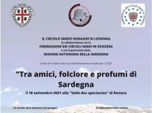 Losanna: 18 settembre – Folclore e profumi di Sardegna