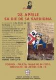 Torino: 28 aprile – Sa Die de sa Sardigna in Piazza Palazzo